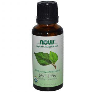 Органическое масло чайного дерева, Now Foods, 30 мл.
