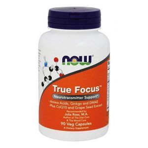 Тру Фокус, True Focus, Now Foods, 90 капсул