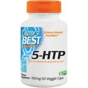 5-HTP, 5-гидрокси L-триптофан, Doctor's Best, 100 мг, 60 ка