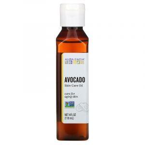 Натуральное успокаивающее масло авокадо, Oil Avocado, Aura Cacia, 118 мл (Default)