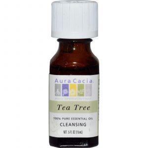 Масло чайного дерева, Aura Cacia, 15 мл.