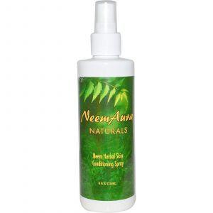 Ним, спрей для кожи, Neemaura Naturals Inc, 236 мл.