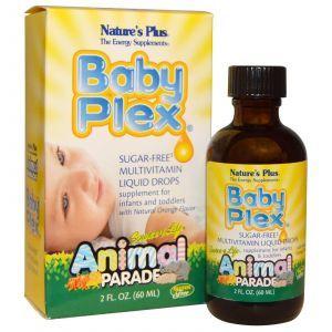 Витамины для младенцев, Nature's Plus, 60 мл.