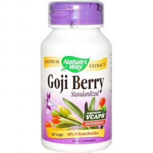 Экстракт Годжи, Nature's Way, 400 мг, 60 кап