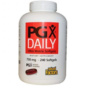 Полигликомплекс (PGX ), Natural Factors, 750 мг, 240 капсул