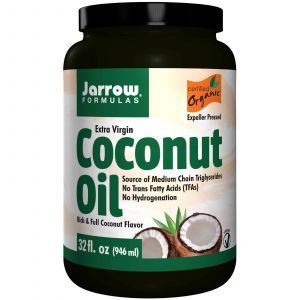 Кокосовое масло, Jarrow Formulas, органическое, 908 г
