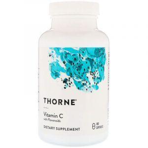 Витамин С (аскорбиновая кислота), Vitamin C, Thorne Research, 180 капс. (Default)