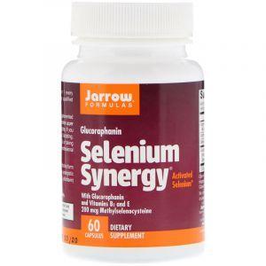 Селен (Selenium Synergy), Jarrow Formulas, 200 мкг, 60 капсул (Default)