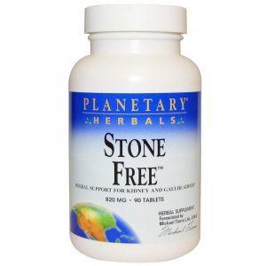 Поддержка почек, Stone Free, Planetary Herbals, 820 мг, 90 таблеток (Default)