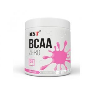 Аминокислоты ВСАА вкус баблгам, Nutrition BCAA Zero, MST, 330 г
