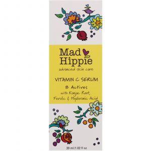 Сыворотка с витамином С, Vitamin C Serum, Mad Hippie Skin Care Products, 30 мл