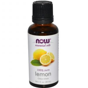 Лимонное масло, Now Foods, 30 мл