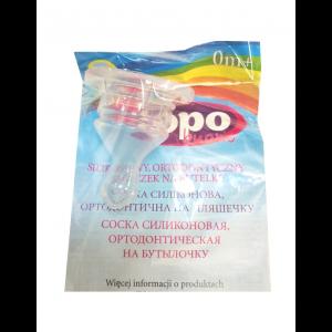 Cоска для бутылочки Topo Buono, Syryca, силиконовая, ортодонтическая