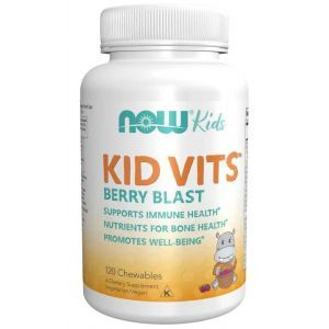 Витамины для детей (Kid Vits), Now Foods, 120 таблеток