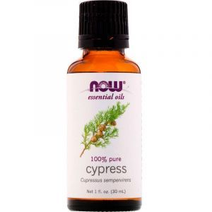 Эфирное масло кипариса,100% Pure Cypress, Now Foods, 30 мл