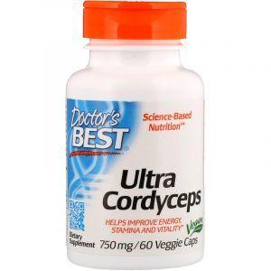 Кордицепс ультра (Cordyceps), Doctor's Best, 60 капс. (Default)