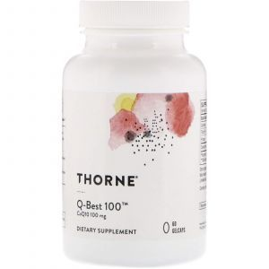 Коэнзим Q10, Q-Best 100, Thorne Research, 60 капсул