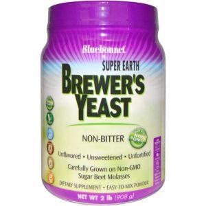 Пивные дрожжи, Brewers Yeast, Bluebonnet Nutrition, 908