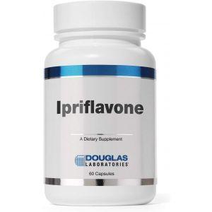 Иприфлавон, поддержка костей, Ipriflavone, Douglas Laboratories, 300 мг., 60 капсул