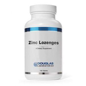 Цинк цитрат, Zinc Citrate, Douglas Laboratories, 100 жевательных таблеток