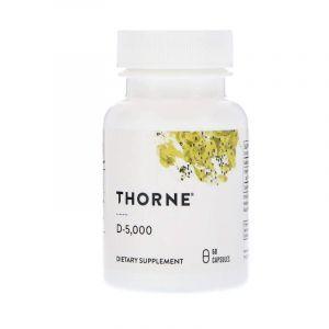 Витамин Д-3, 5 000, Thorne Research, 60 кап. (Default)