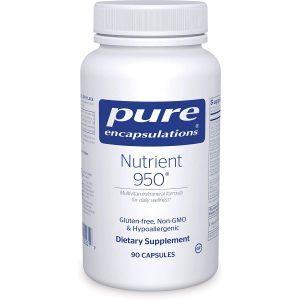 Мультивитамины / минералы, Nutrient 950, Pure Encapsulations, 90 капсул