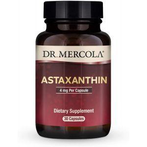 Астаксантин, Astaxanthin, Dr. Mercola, 4 мг, 30 капсул