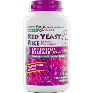 Красный дрожжевой рис, Red Yeast Rice, Nature's Plus, 600 мг,120 таблеток (Default)