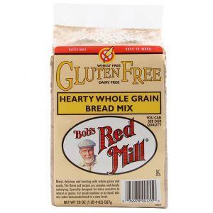 Цельнозерновая смесь для выпечки хлеба, Hearty Whole Grain Bread Mix, Bob's Red Mill, 567 г (Default)