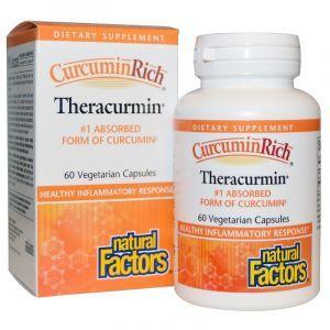 Куркумин, Natural Factors, 30 мг, 60 капсул (Default)