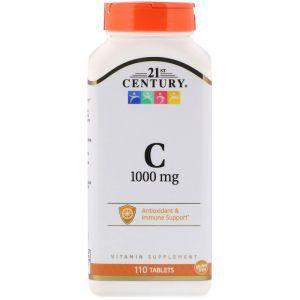Витамин С, 21st Century, 1000, 110 таблеток (Default)