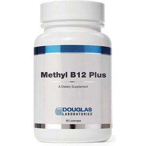 Метил В12 плюс, Methyl B12 Plus, Douglas Laboratories, 90 жевательных таблетки