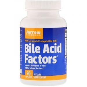 Бычья желчь, экстракт, Bile Acid, Jarrow Formulas, 90 кап (Default)