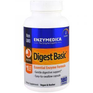 Пищеварительные ферменты, Essential Enzyme Formula, Enzymedica, 180 капсул (Default)
