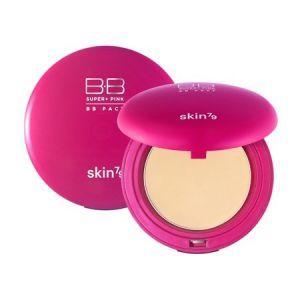 """Компактная BB-пудра """"Super Plus Pink"""", Compact BB Powder, Skin79, 15 г"""