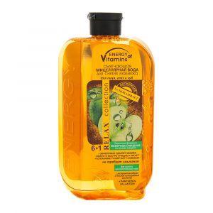 Смягчающая мицеллярная вода для снятия макияжа, Energy of vitamins, 500 мл