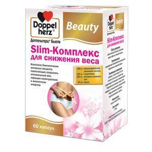 Slim-Комплекс для снижения веса, Доппельгерц Бьюти, 30 капсул