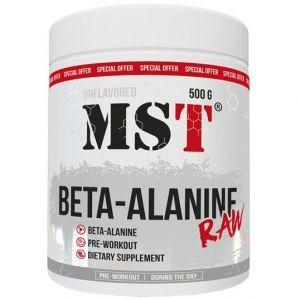 Бета-аланин, Beta-Alanine RAW, MST, 500 г