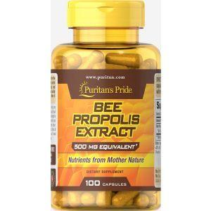 Прополис, Bee Propolis, Puritan's Pride, 500 мг, 100 капсул