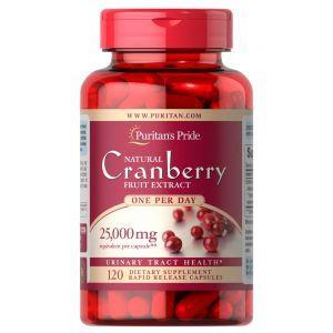 Клюква, Cranberry, Puritan's Pride, 1 на день, 120 капсул