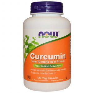 Куркумин, Curcumin, Now Foods, 120 капс