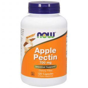 Яблочный пектин, Apple Pectin, Now Foods, 700 мг, 120 кап