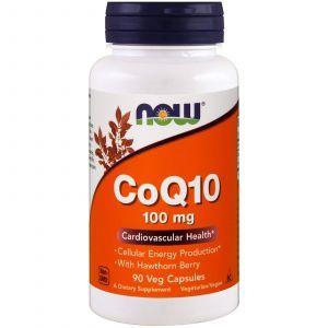 Коэнзим Q10 (CoQ10), Now Foods, 100 мг, 90 капсу