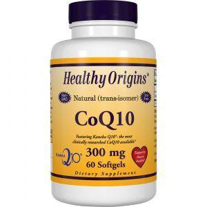 Коэнзим Q10, Healthy Origins, Kaneka Q10 (CoQ10), 300 мг, 60 капс
