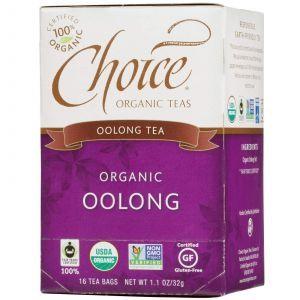 Органический чай Улун, Choice Organic Teas, 16 шт.