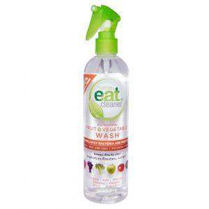 Средство для мытья овощей, All Natural Fruit + Vegetable Wash, Eat Cleaner, 354 мл