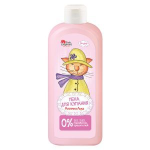 "Пена для ванн ""Кошечка Лиза"", Pink Elephant, 500 мл"