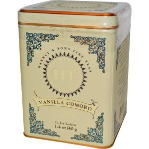 Чай черный с ванилью (без кофеина), Harney & Sons, 40 г.
