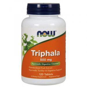 Трифала (Triphala), Now Foods, 500 мг, 120 табле