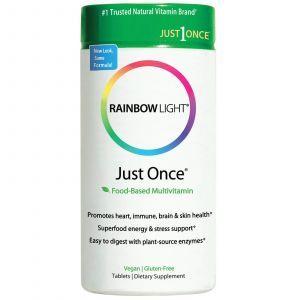 Мультивитамины, Rainbow Light, 120 таблето